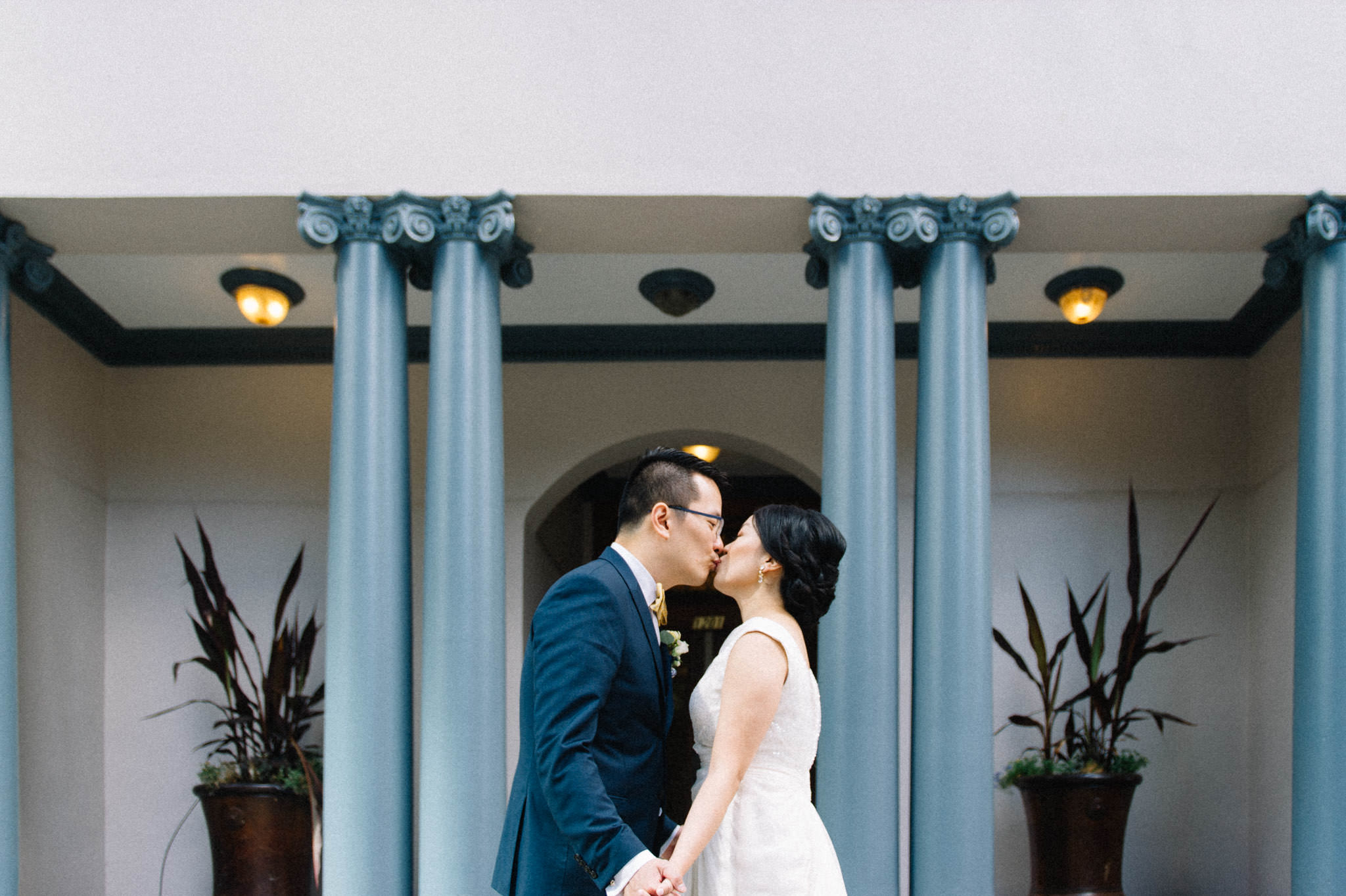 Downtown Vancouver wedding photography