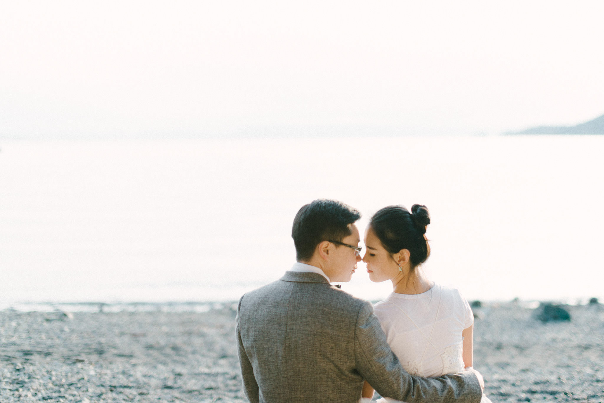 Whytecliff Park pre-wedding session