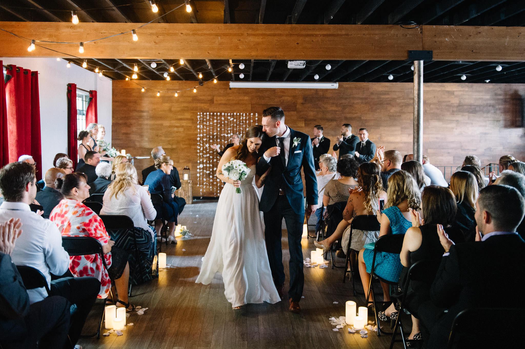 Vancouver Soundhouse Studios wedding