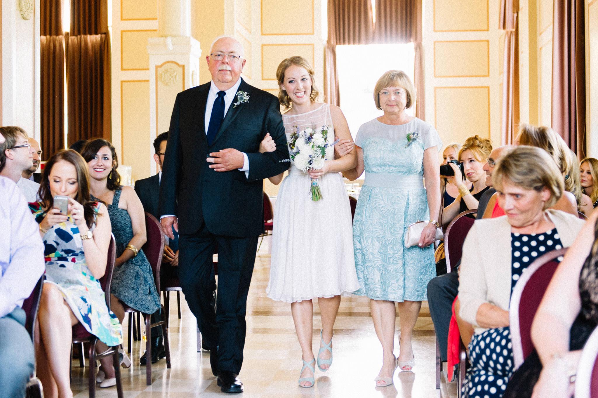 Heritage Hall Vancouver wedding ceremony