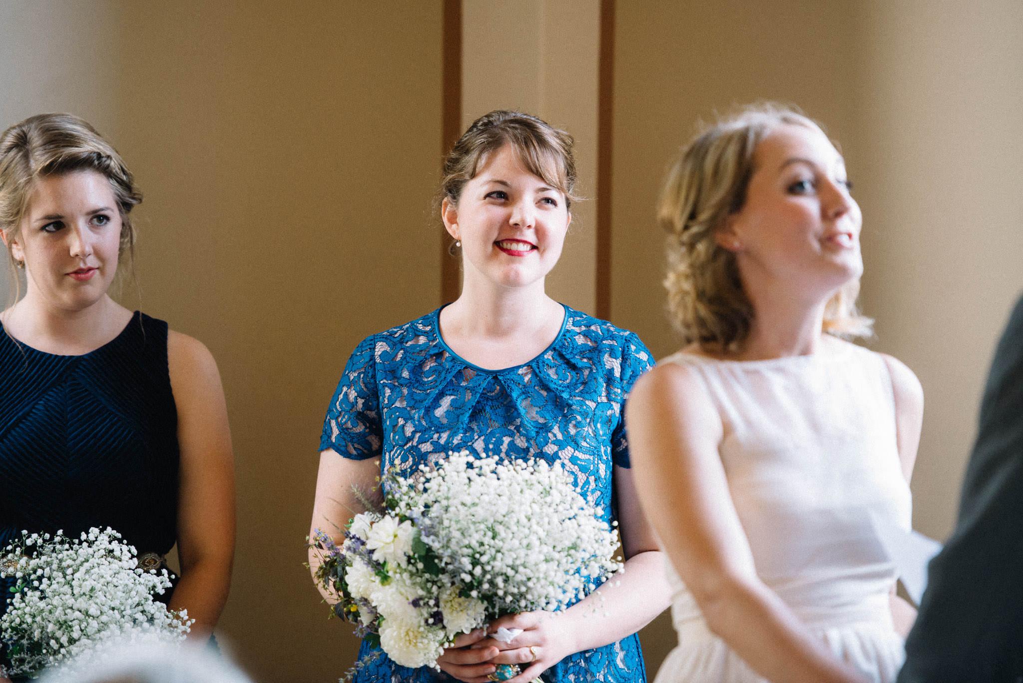 Vancouver Heritage Hall wedding ceremony