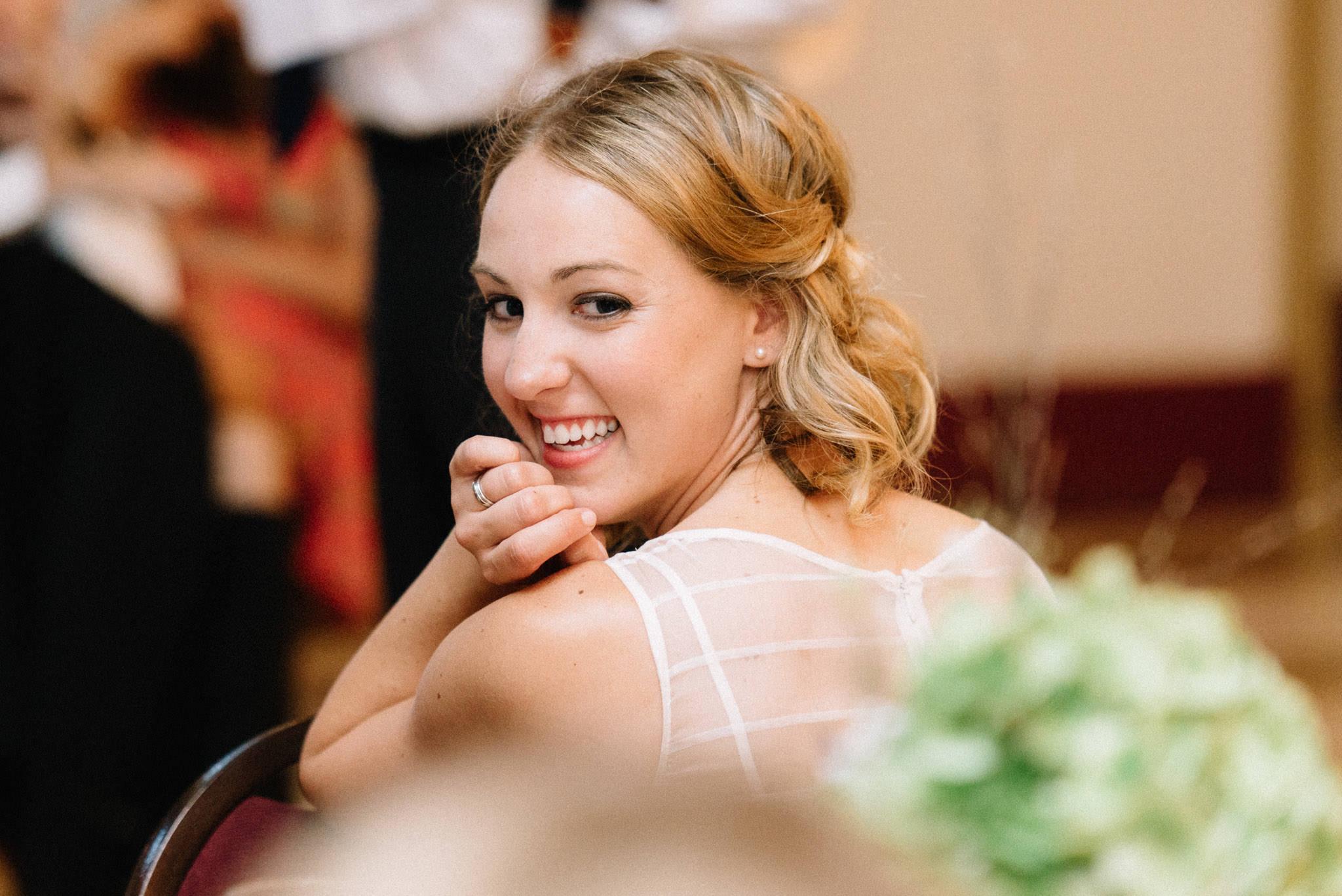 Heritage Hall wedding reception