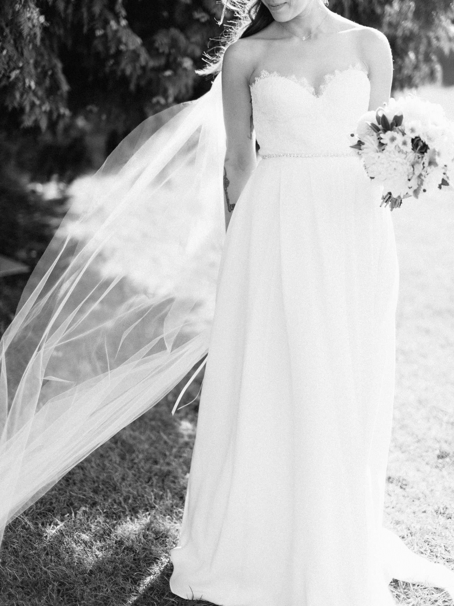 Vancouver wedding photography - black & white