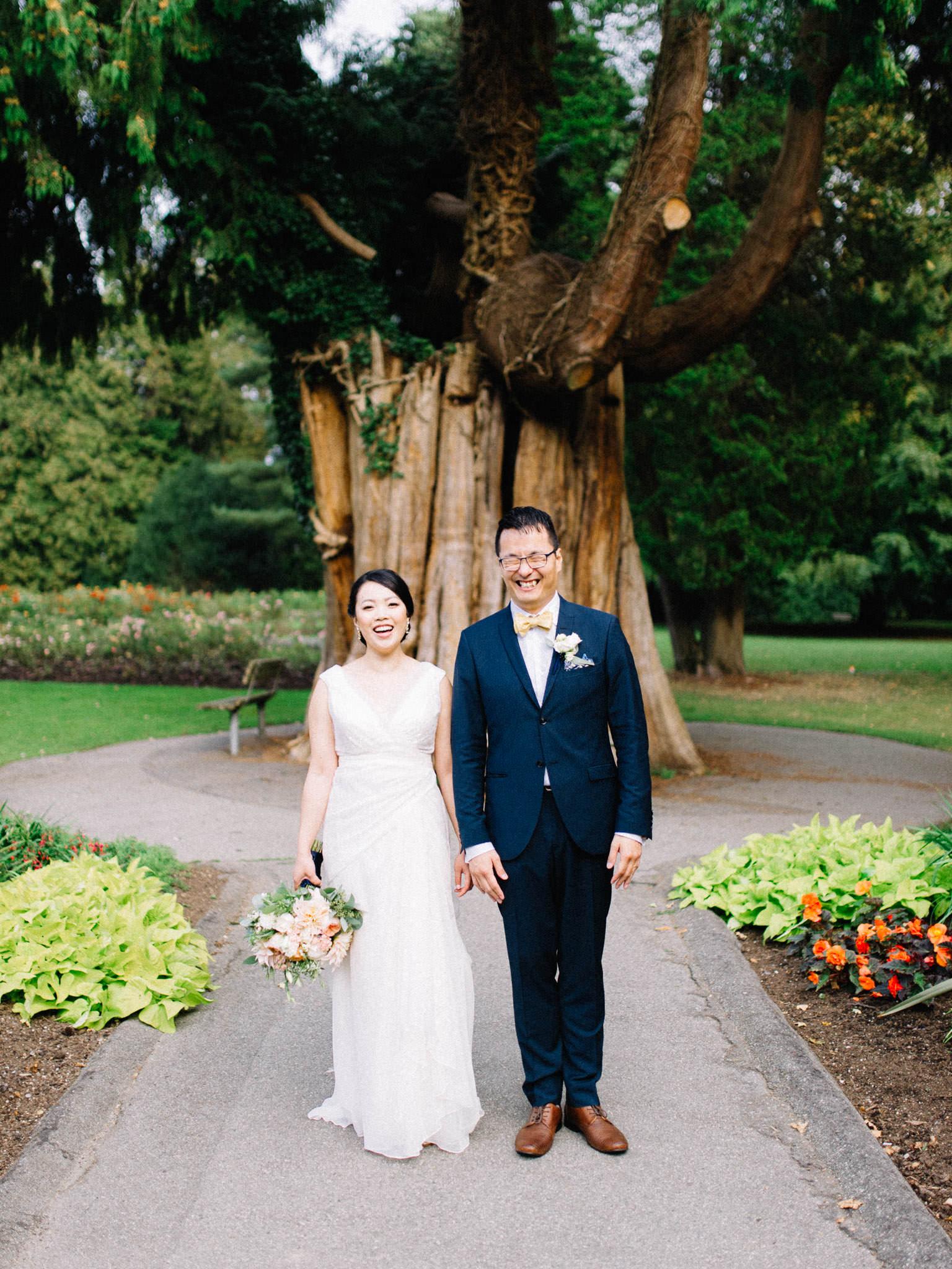 Stanley Park wedding photography