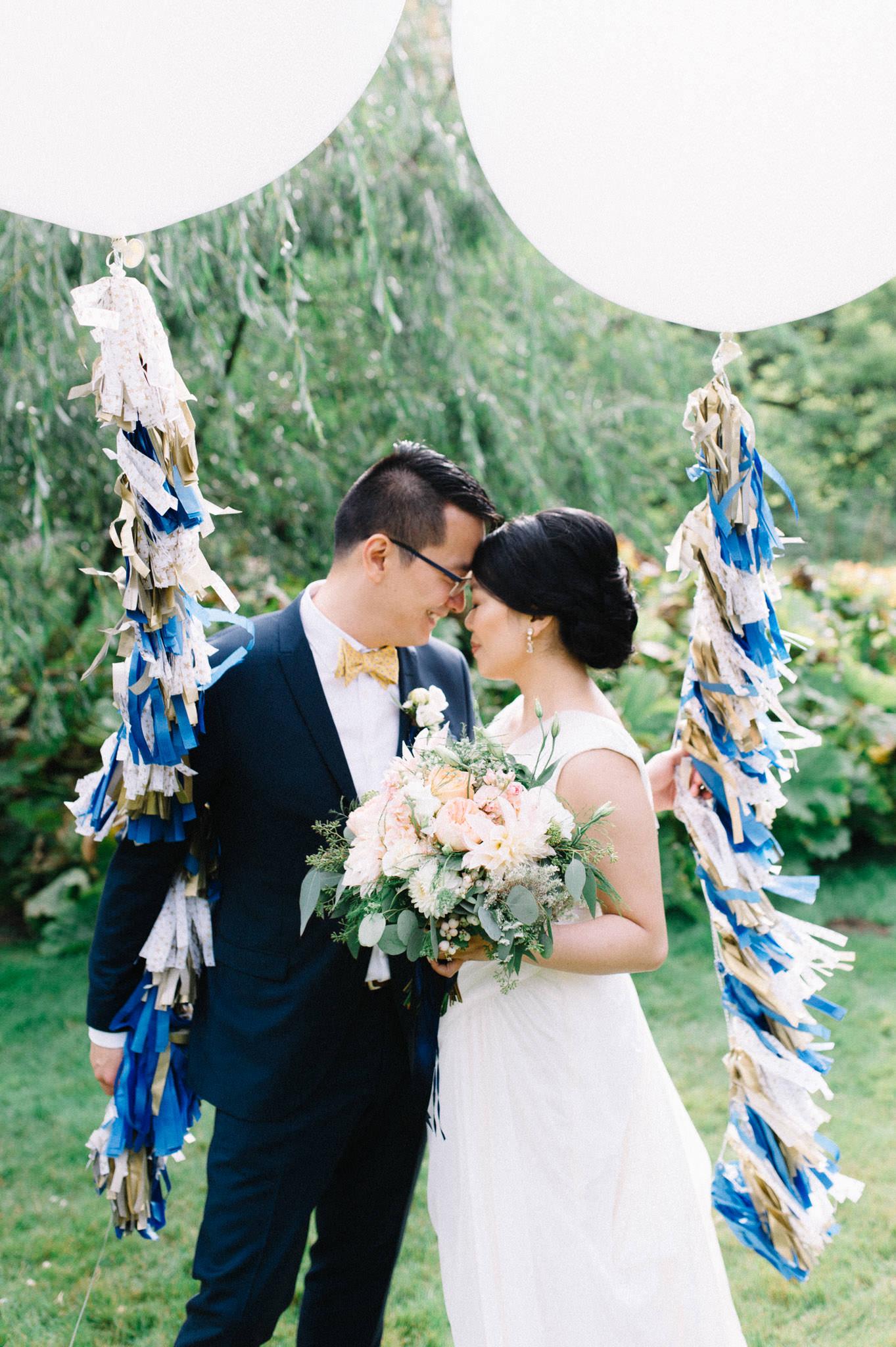 Stanley Park wedding ceremony