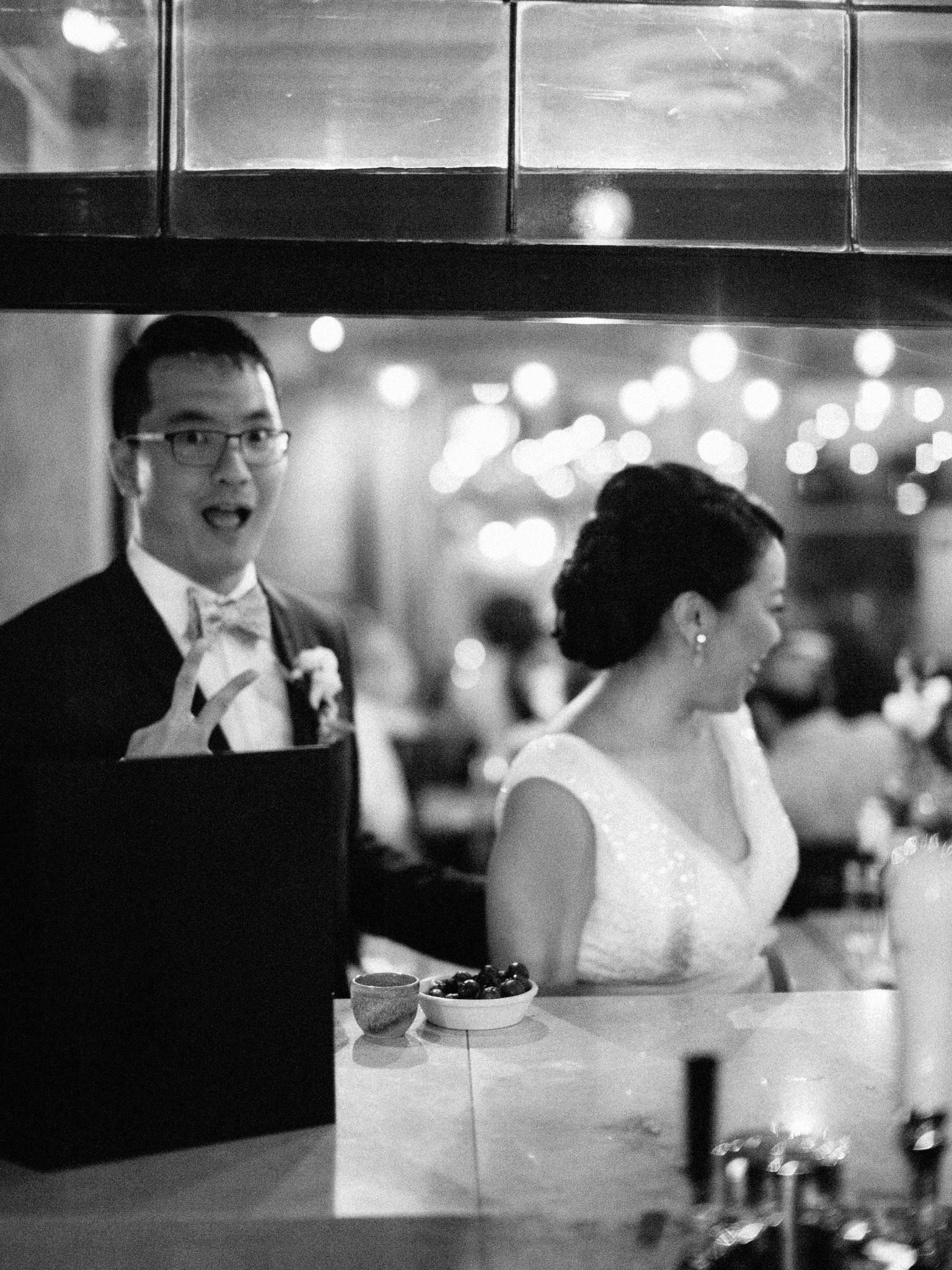 Chambar Vancouver wedding reception