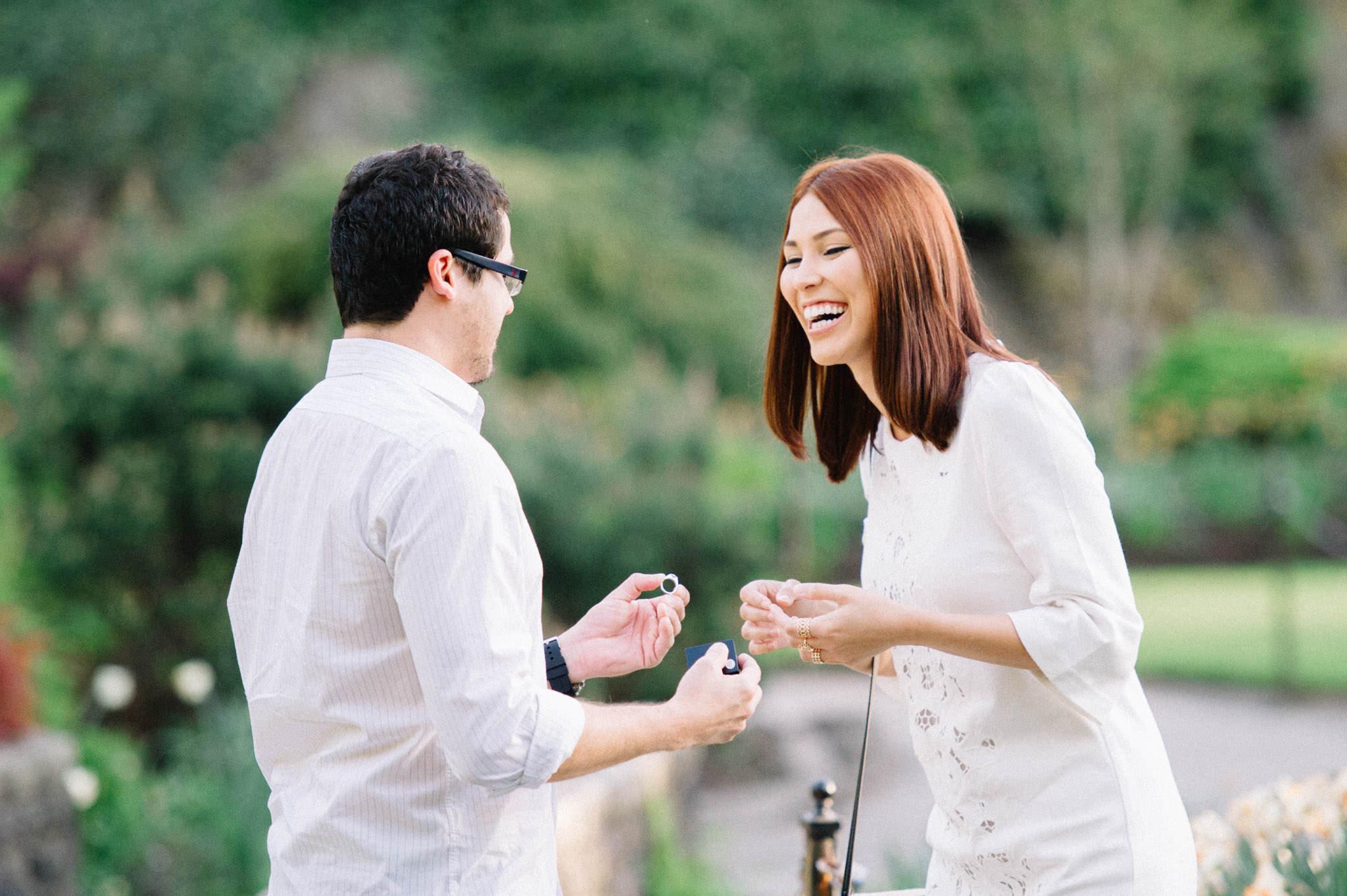 Queen Elizabeth Park surprise proposal