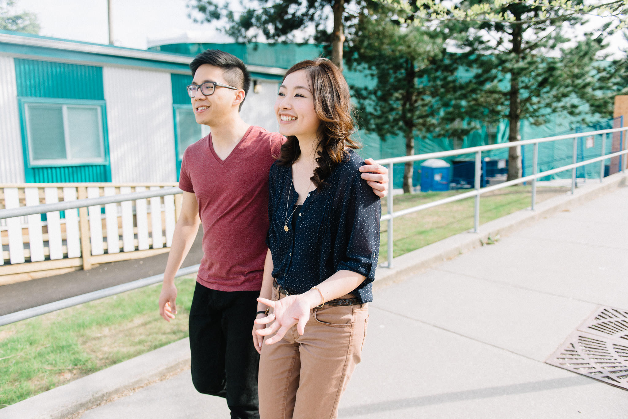 Vancouver high school engagement session