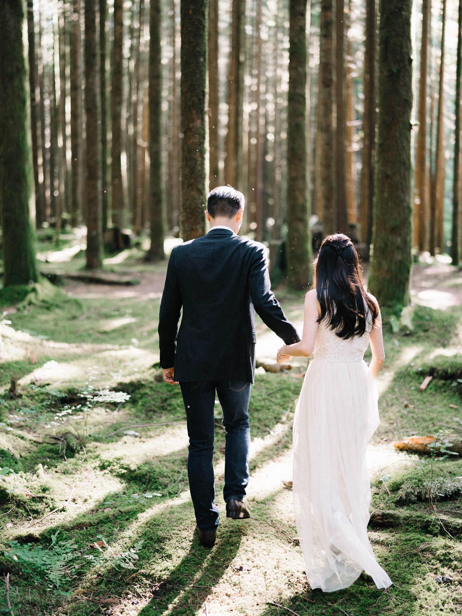 Golden Ears Park wedding photography