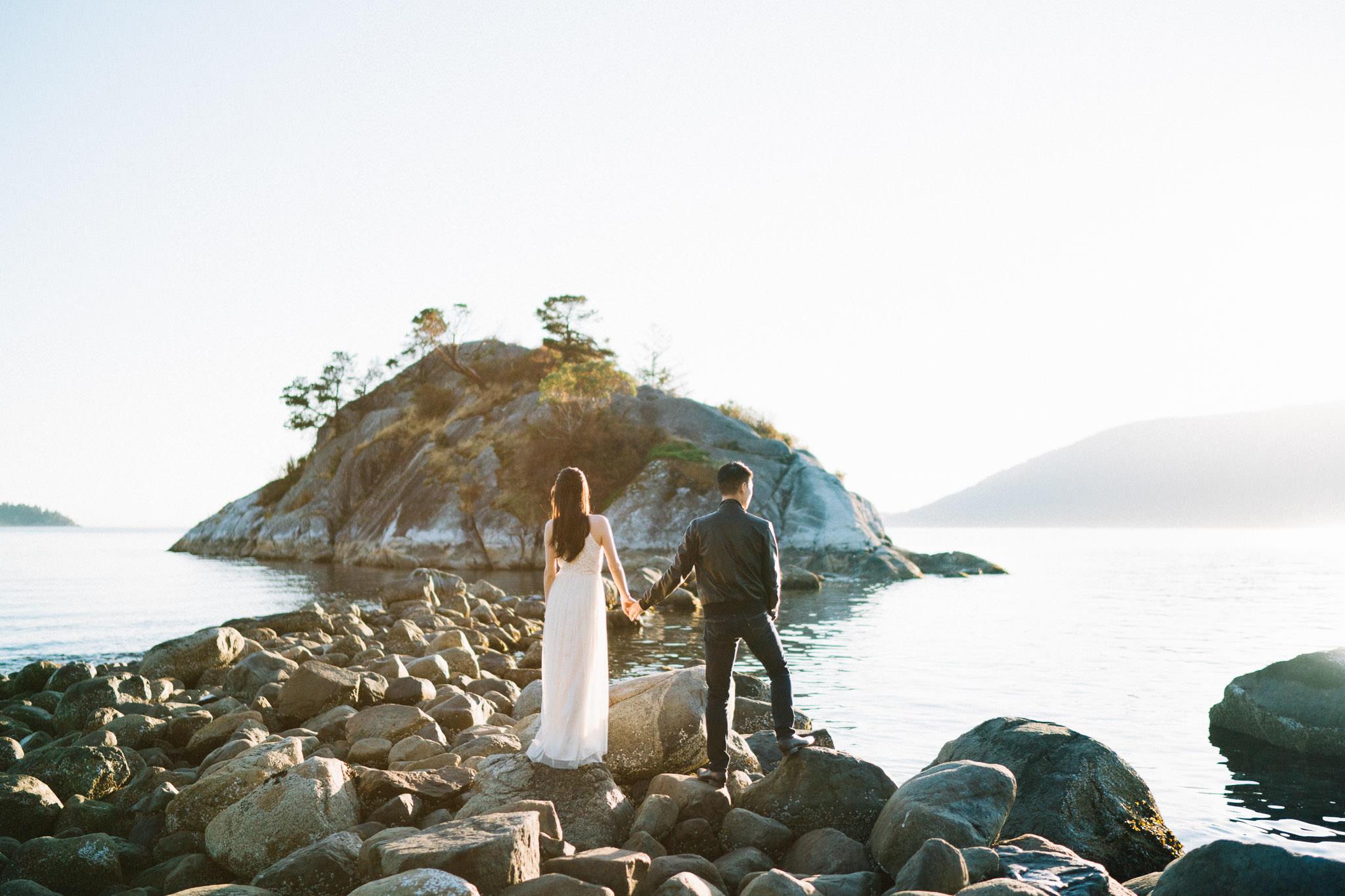 Vancouver pre-wedding photography