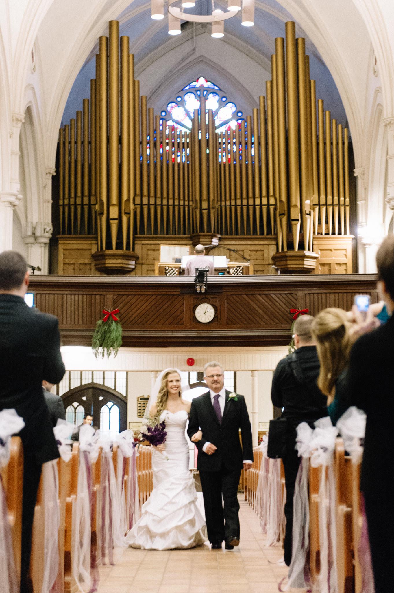 St Basil's Church Toronto wedding