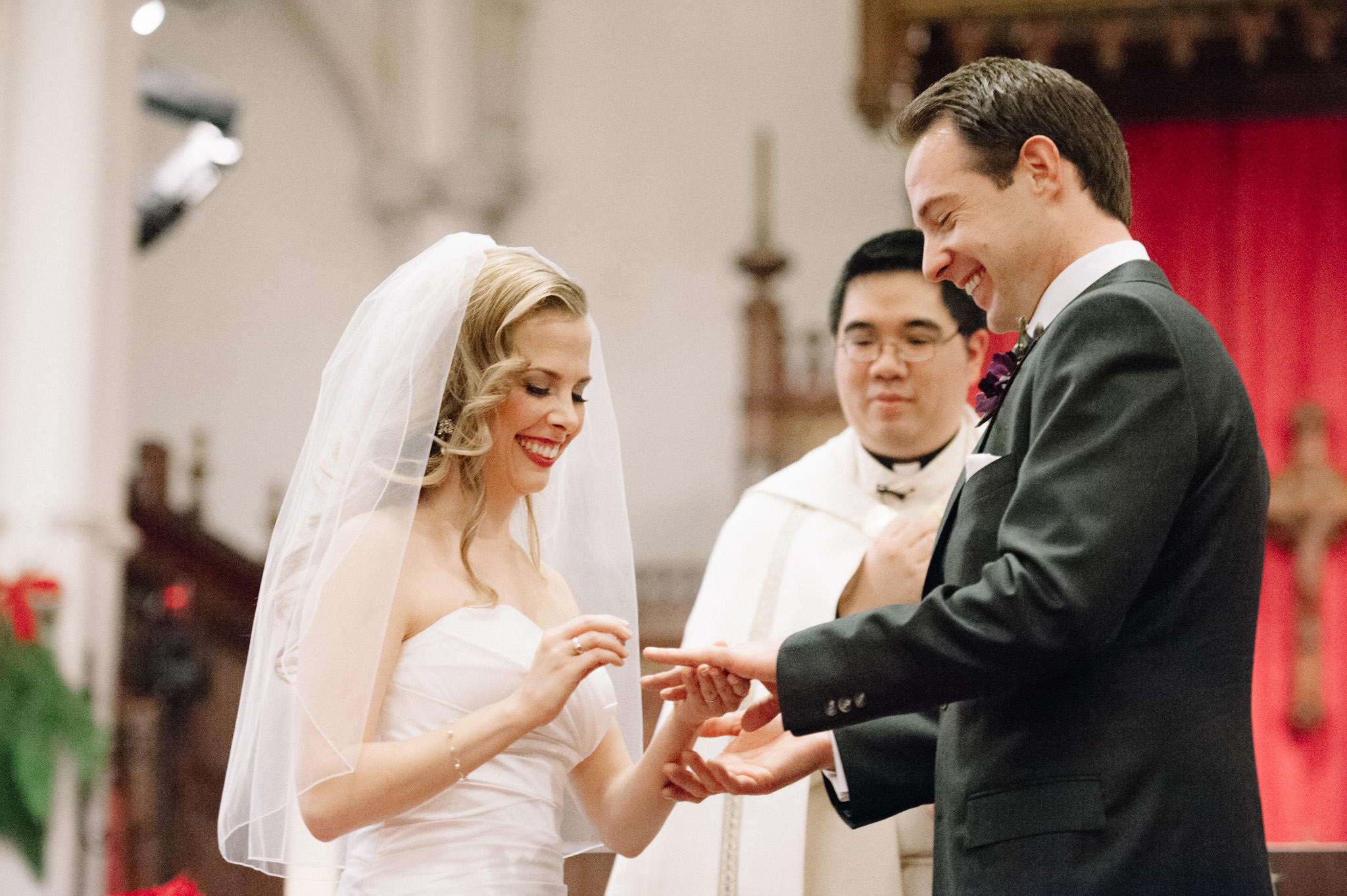 St. Basil's Church Toronto wedding