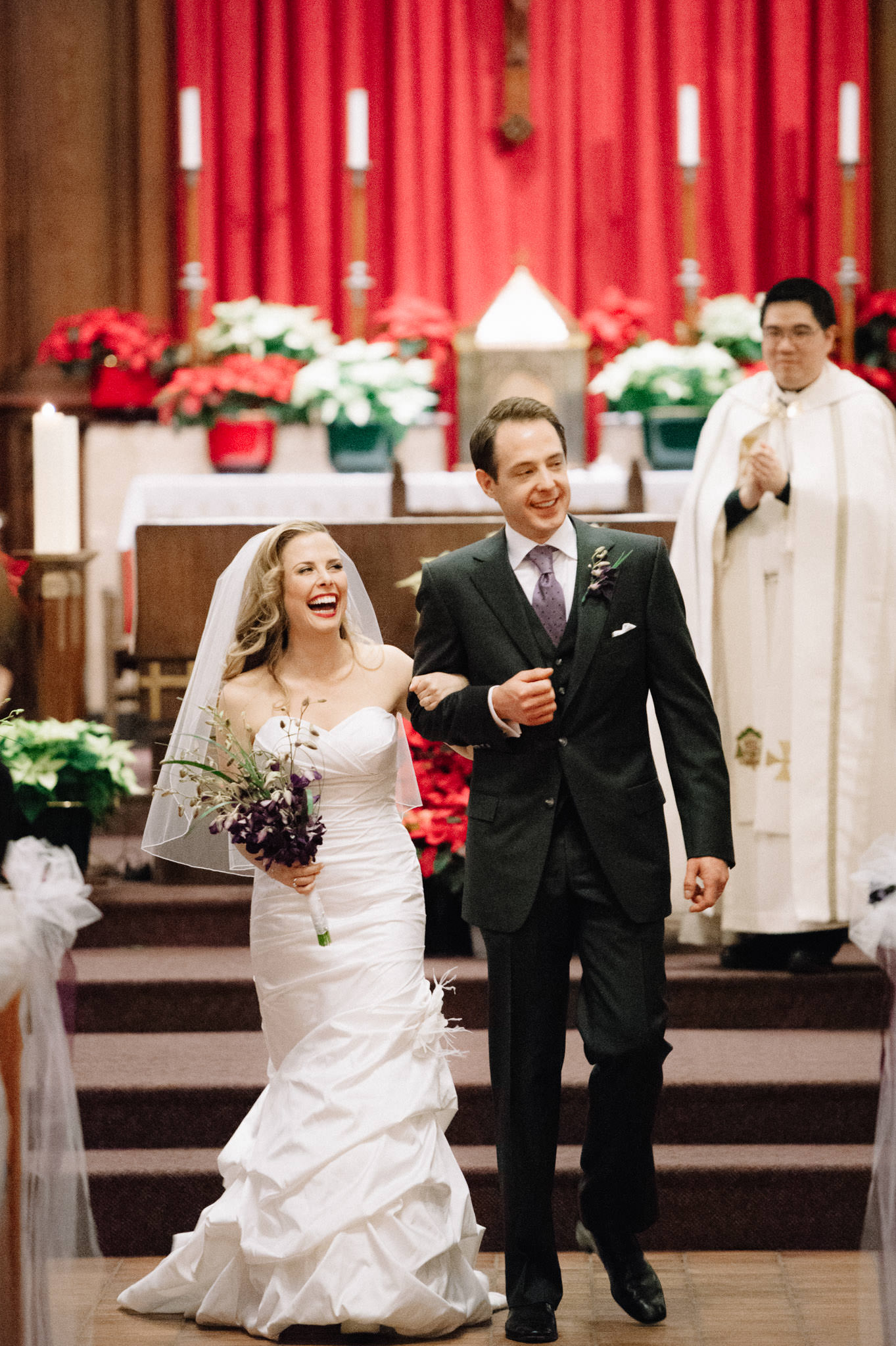 St Basil Church Toronto wedding