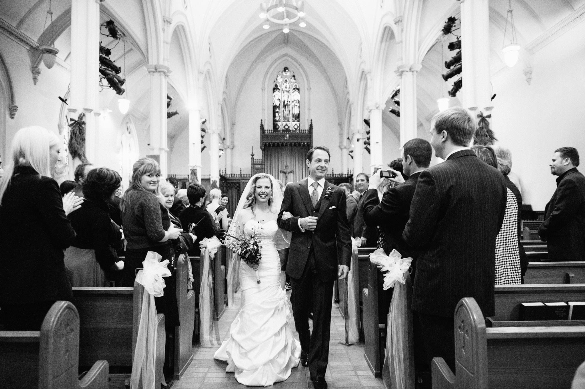 St Basil's Church wedding