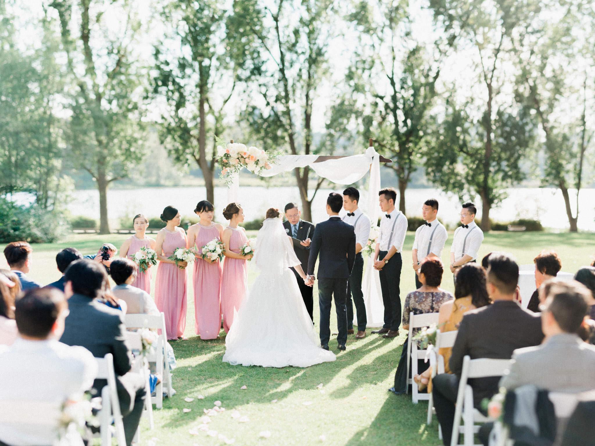 Hart House Wedding Ceremony Vancouver