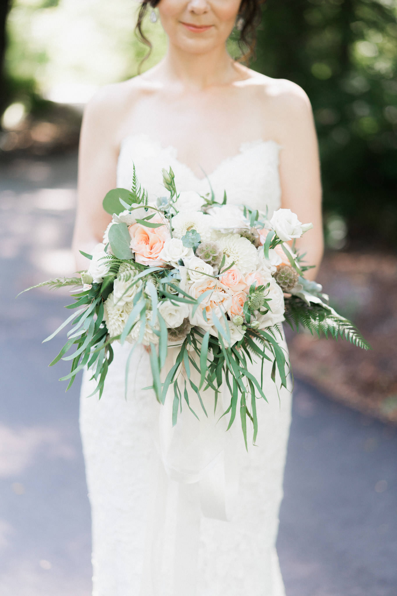 Thomas Hobbs wedding bouquet