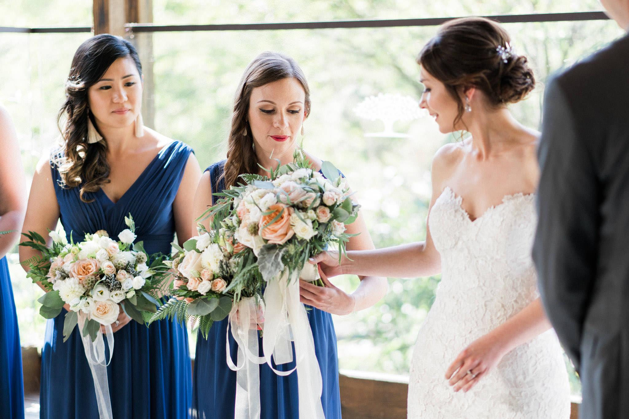 Wedding ceremony at Shaughnessy Restaurant