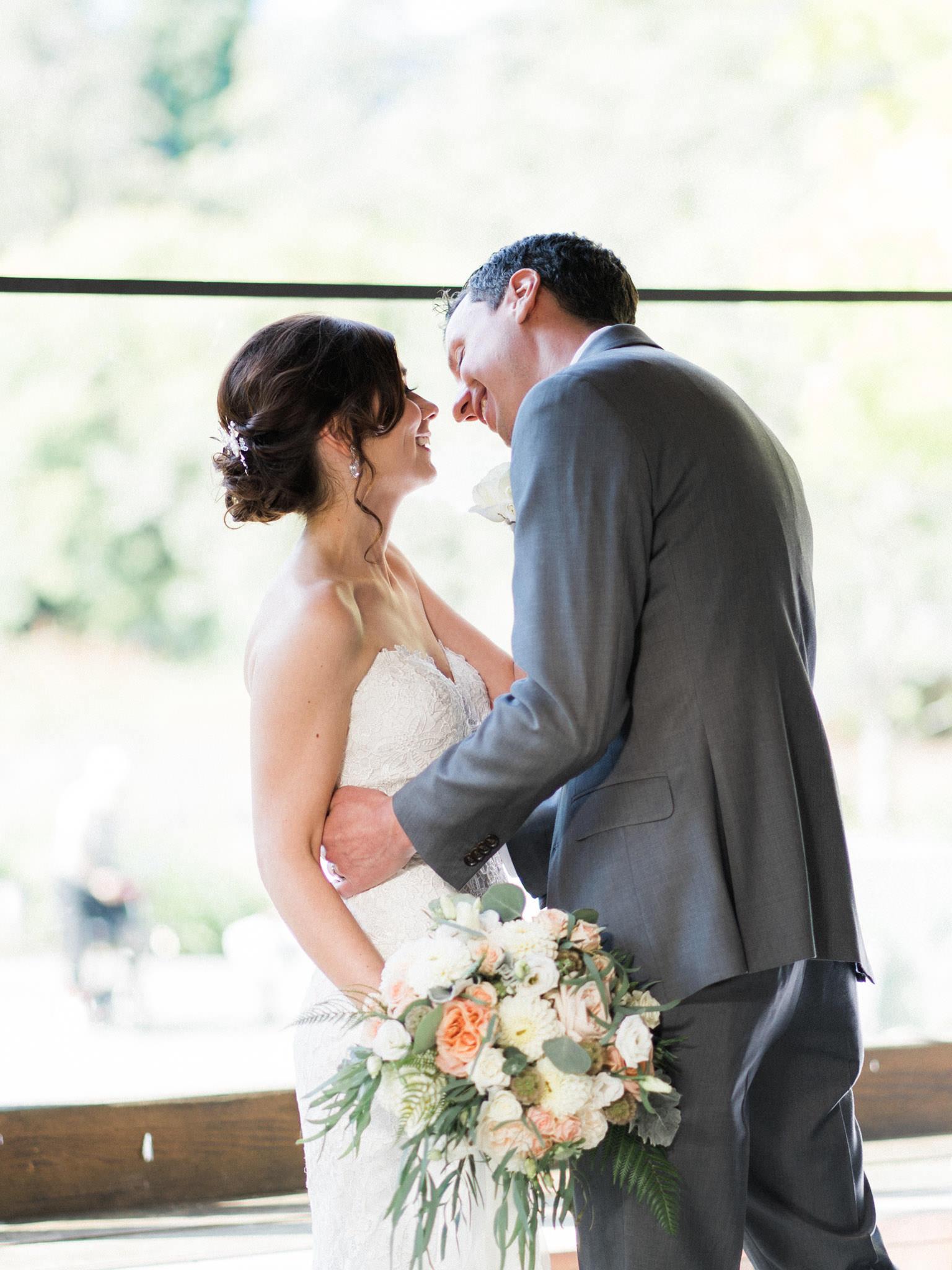 Shaughnessy Restaurant wedding ceremony