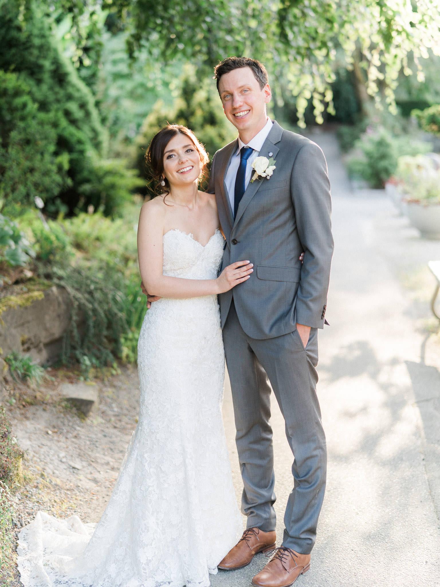 VanDusen Garden wedding