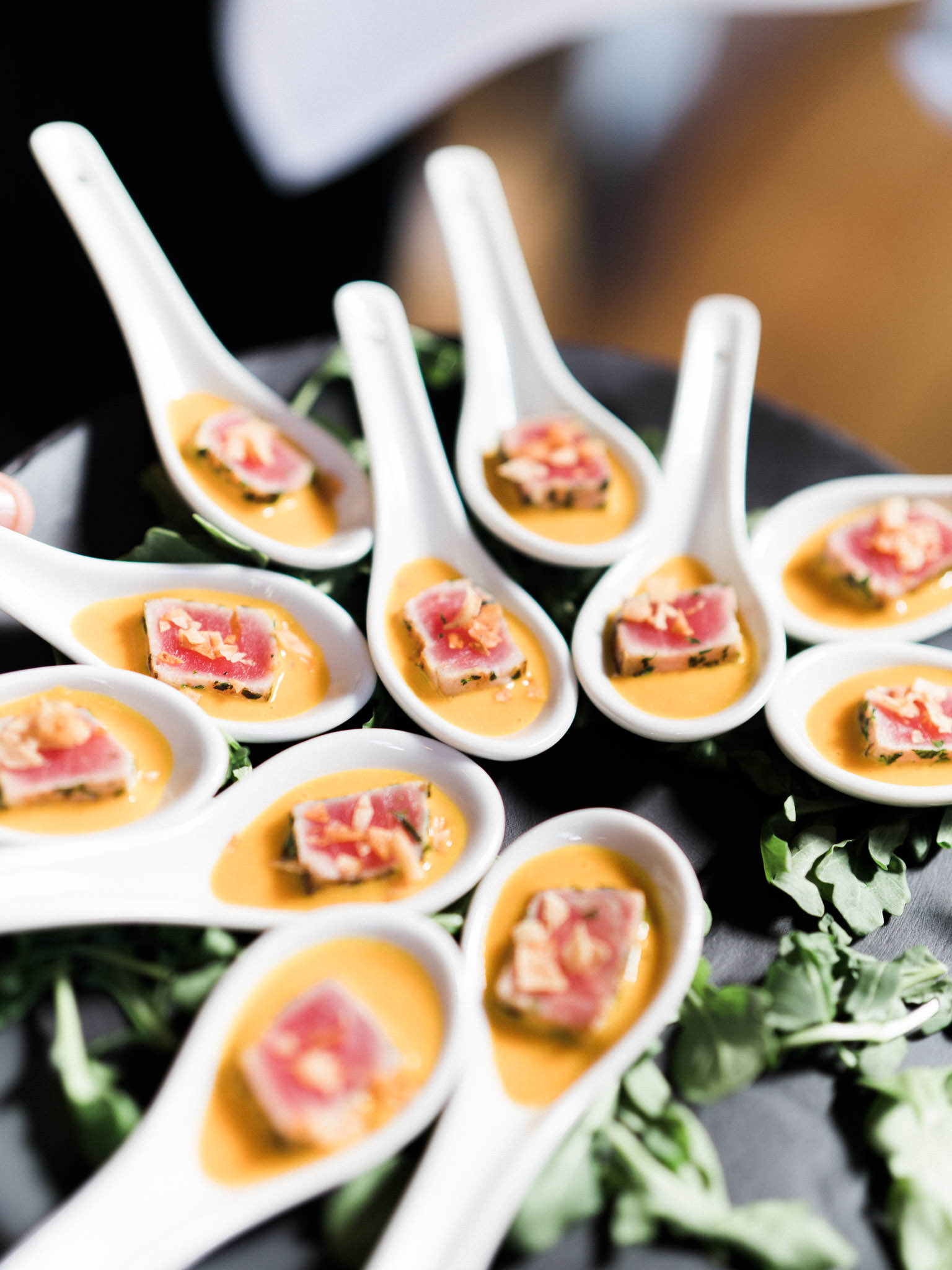 Wedding food at Shaughnessy Restaurant