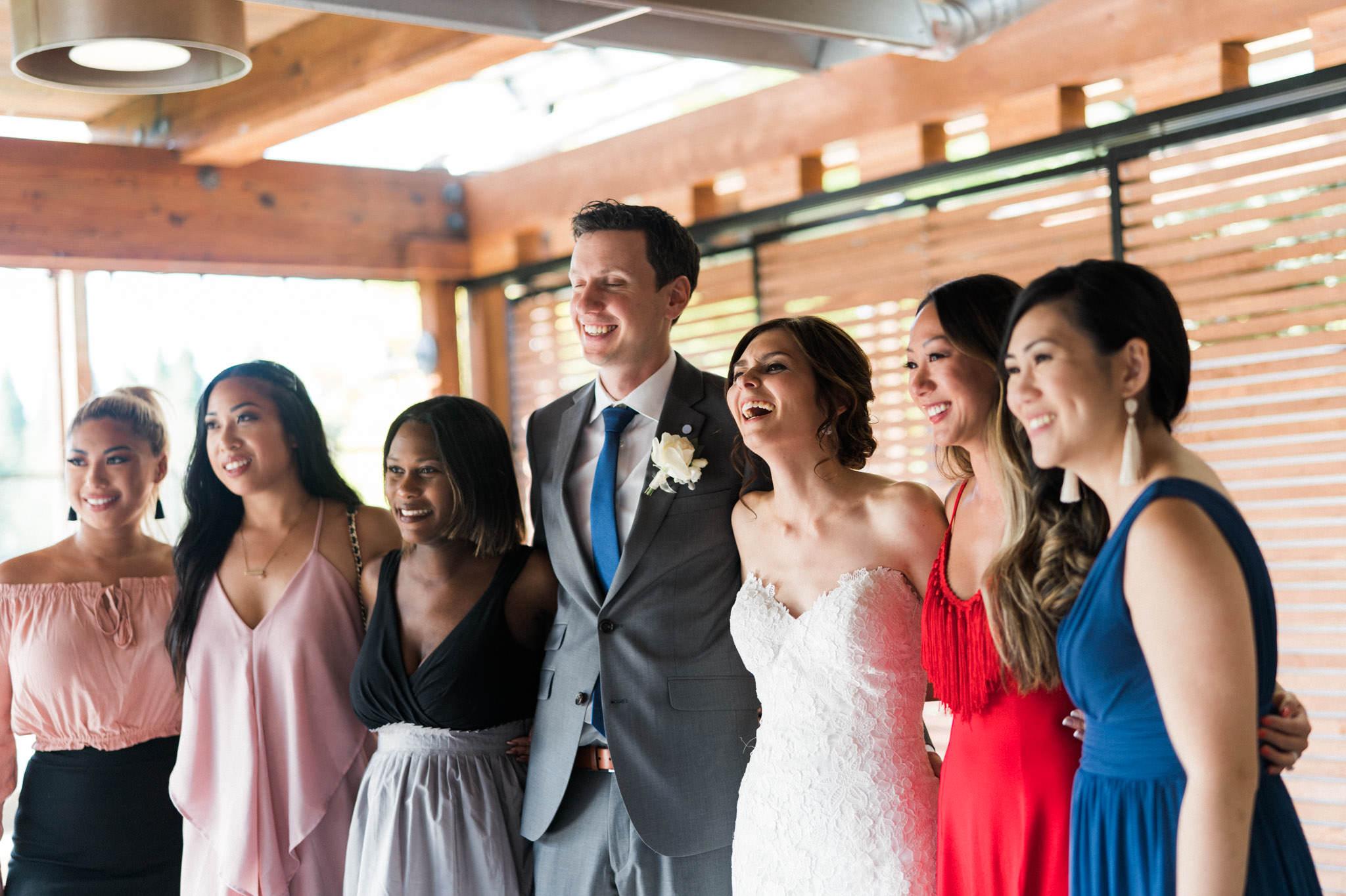 Reception at Shaughnessy Restaurant wedding