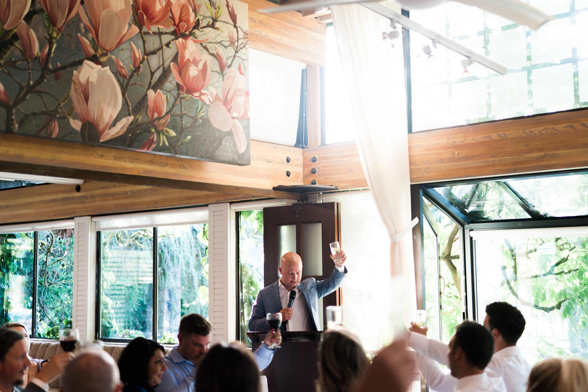 Wedding reception at Shaughnessy Restaurant