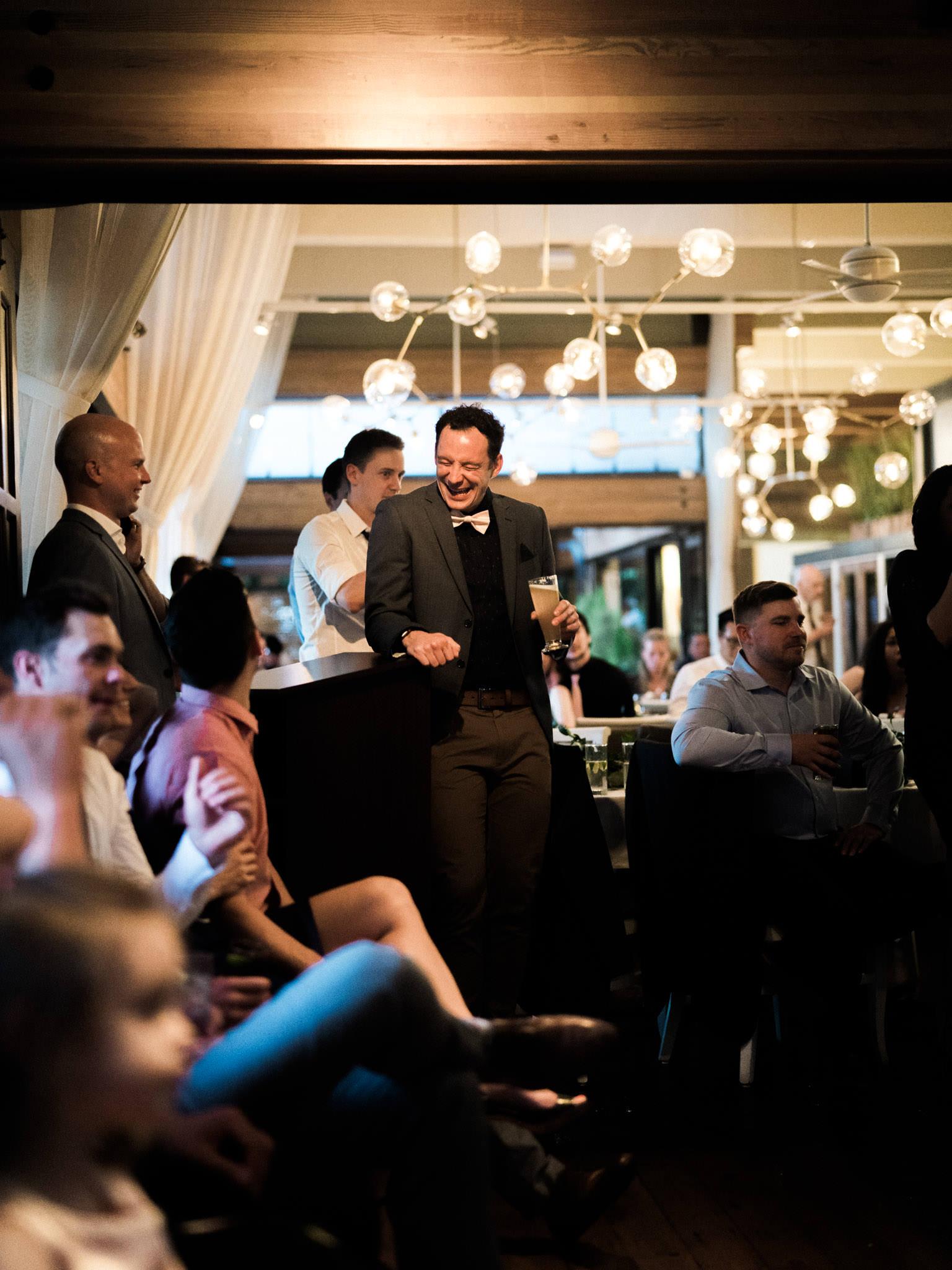 Dance floor at Shaughnessy Restaurant wedding