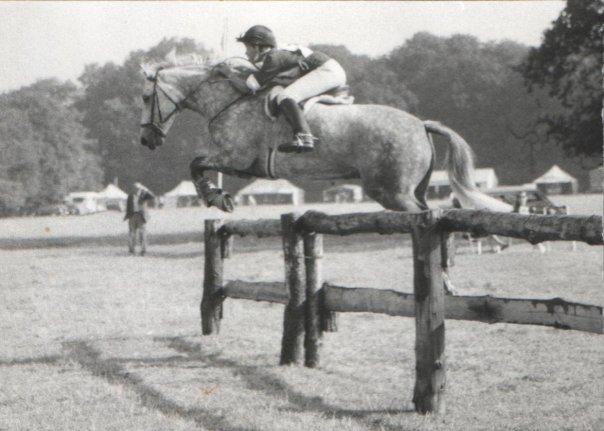 Figaro - Pony Club Championships 1975