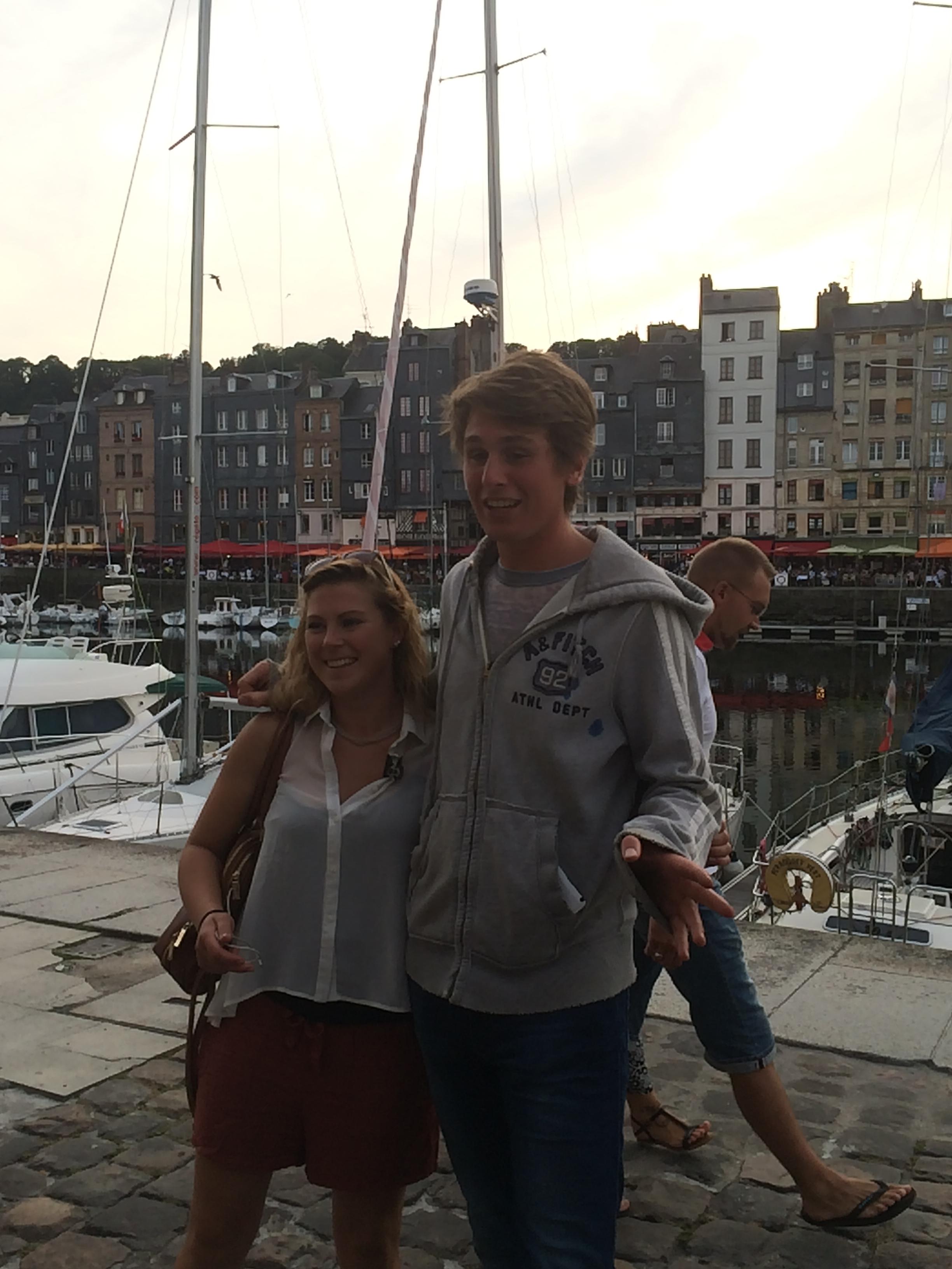 Teddy & Heather in Honfleur.JPG