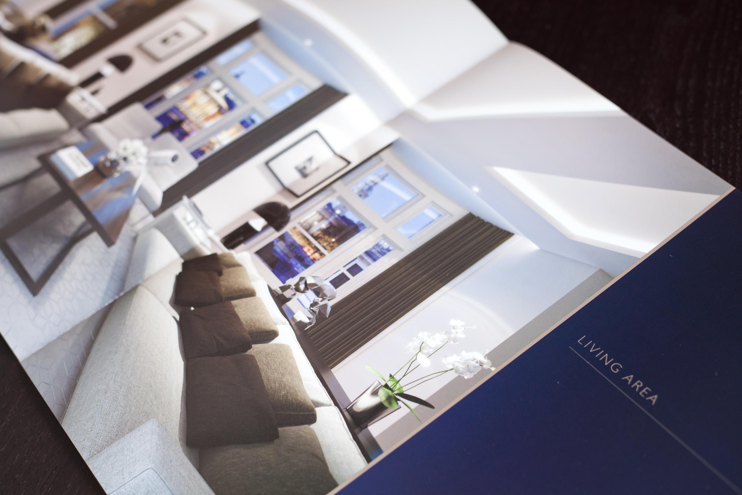 Brochure design by SO Creative.