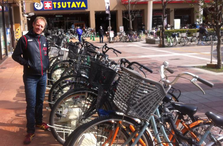 Sakai and Osaka, cycling Mecca