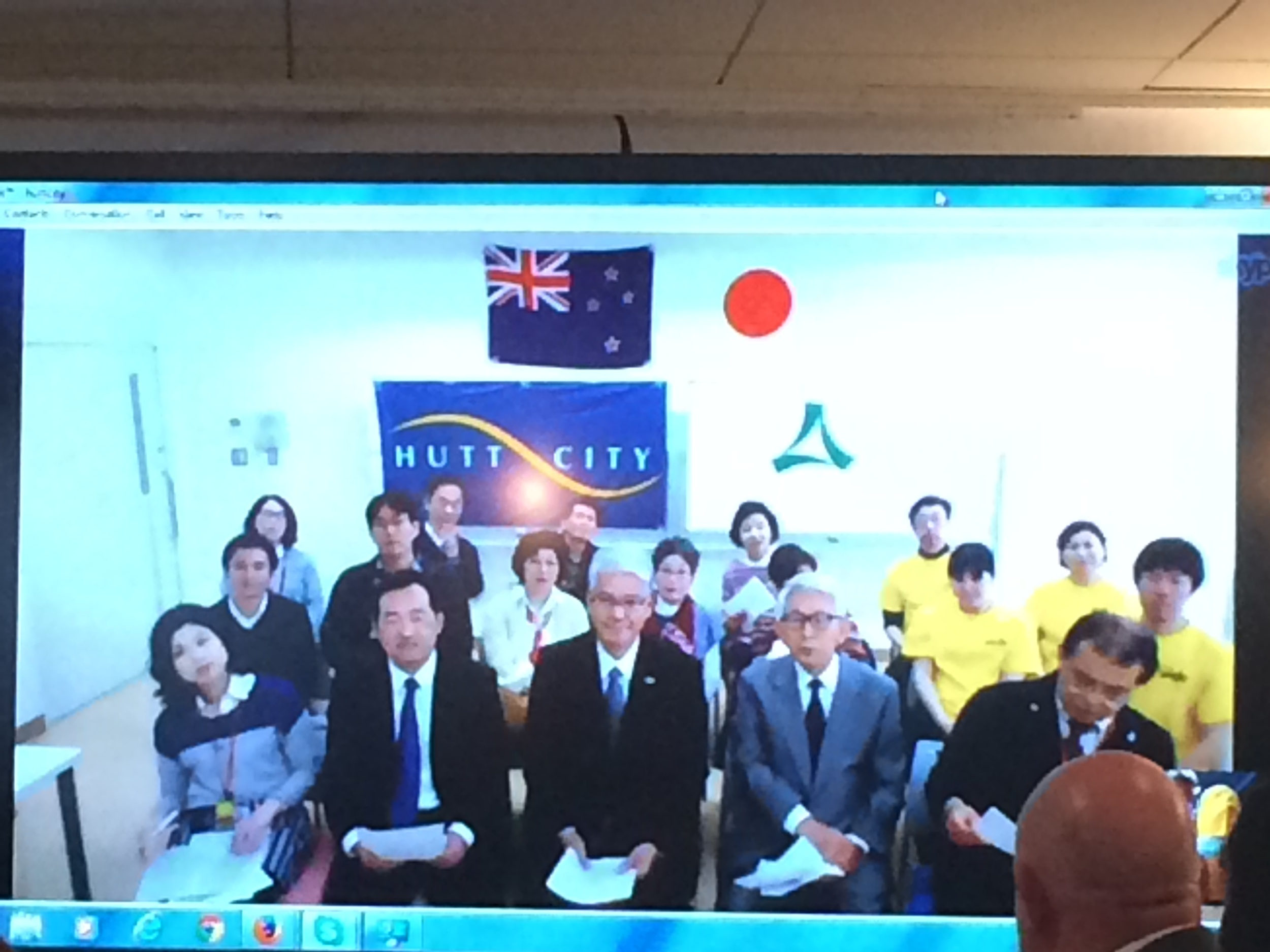 10. Skype discussion with Hutt Sister City Minoh .JPG