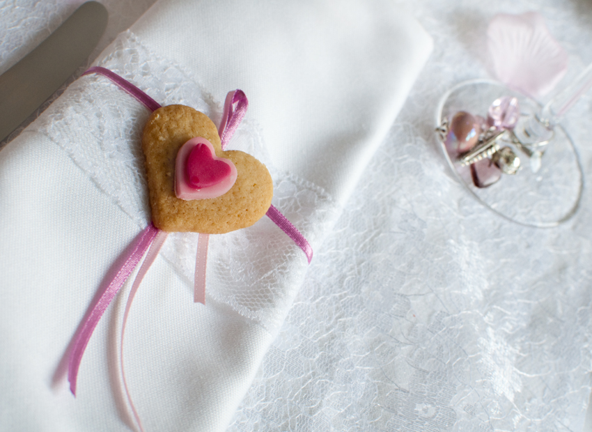 Valentine biscuit by The Chipping Norton Tea Set