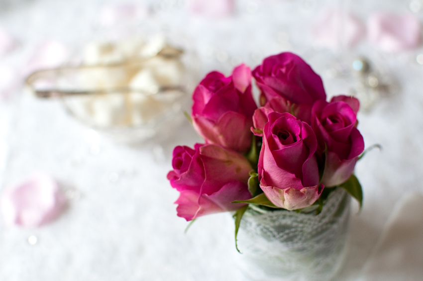 Valentine roses by The Chipping Norton Tea Set