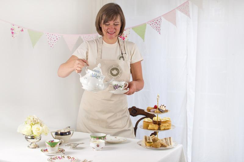 Victoria Wills of The Chipping Norton Tea Set