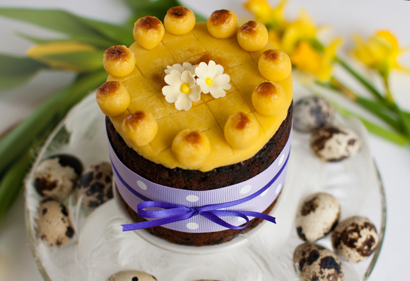 Simnel cake by The Chipping Norton Tea Set