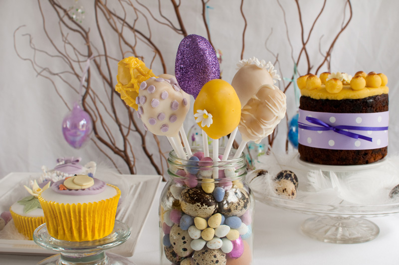 Easter sweet selection by The Chipping Norton Tea Set