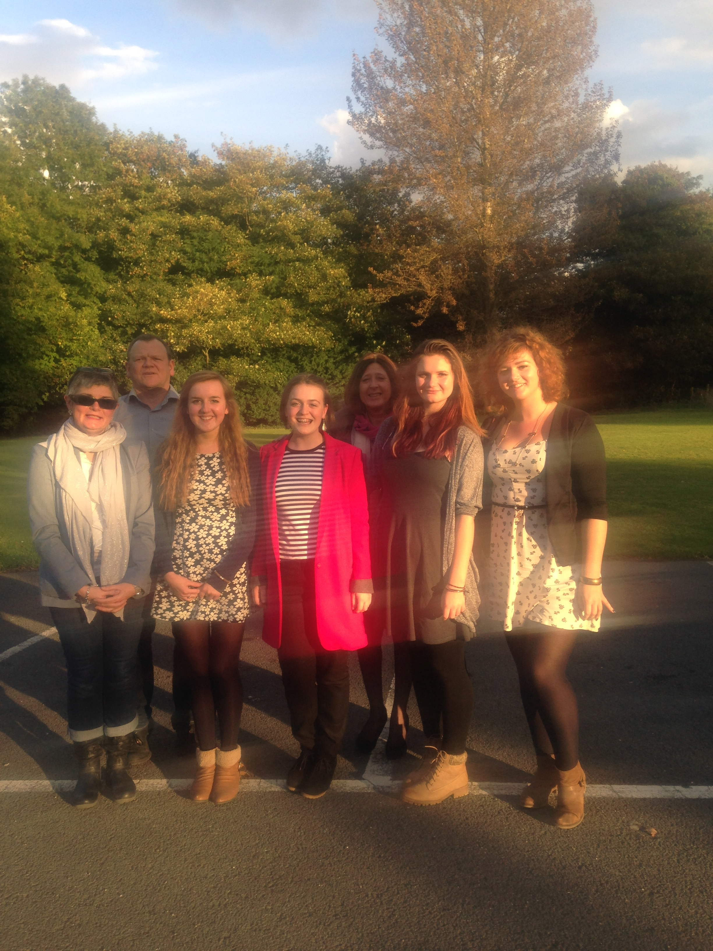 Some of our lovely team who enjoyed our end of season afternoon tea!