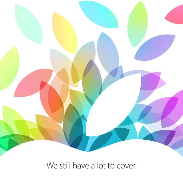 Apple October Event Invitation