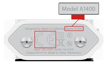Model A1400 - New unaffected model
