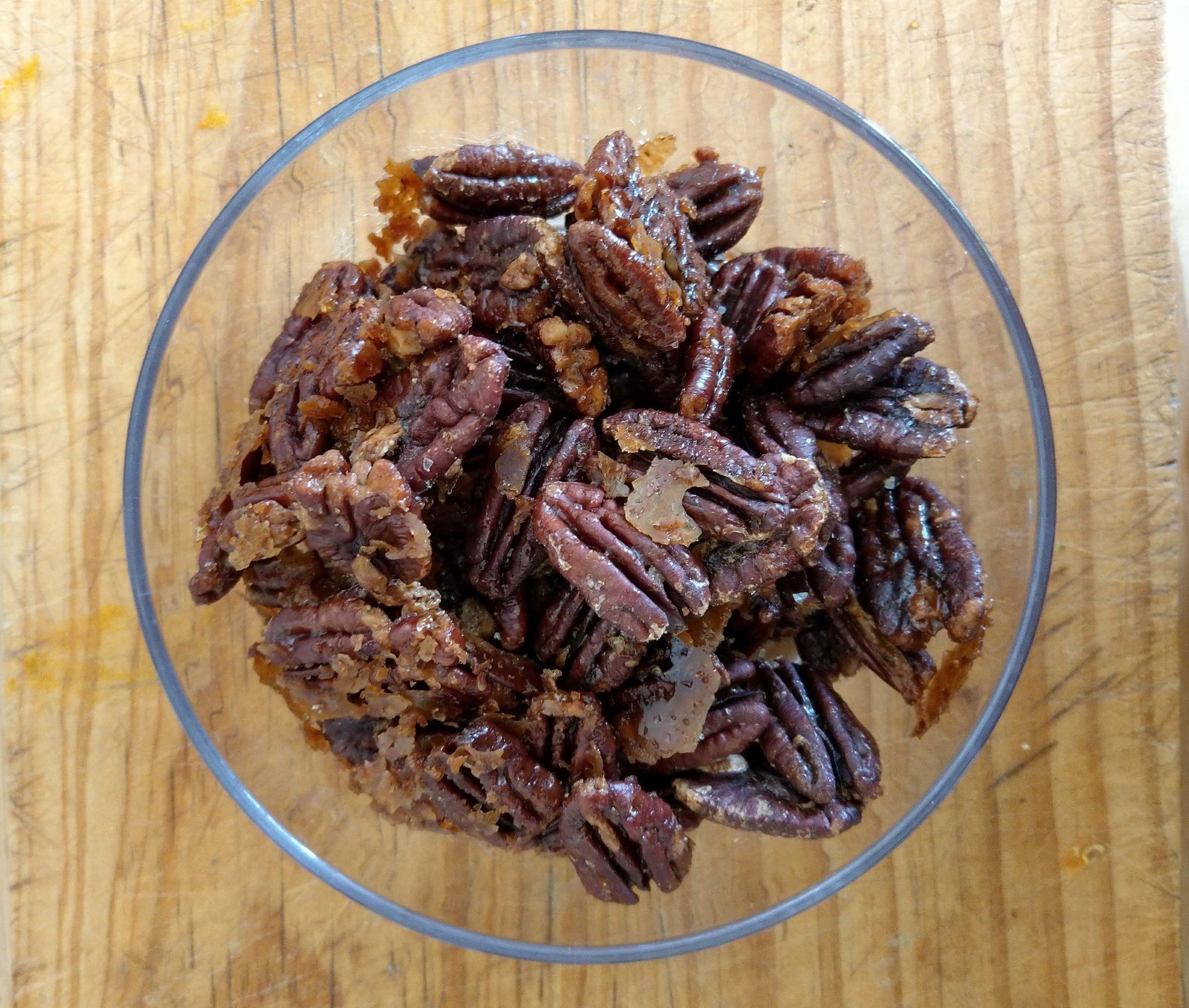 salted maple pecan recipe