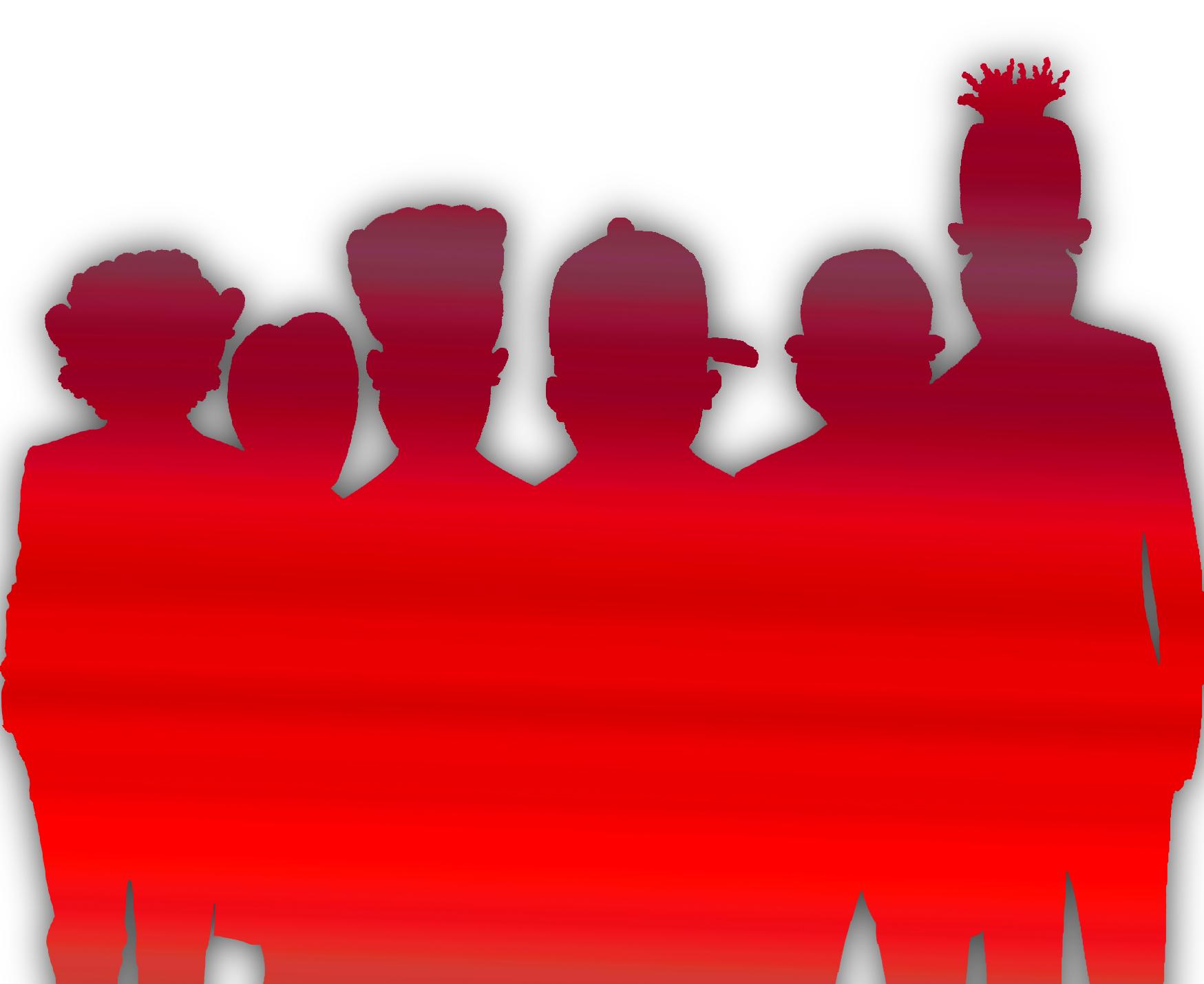 BlackDroog Band-Alternate-REd Shadow