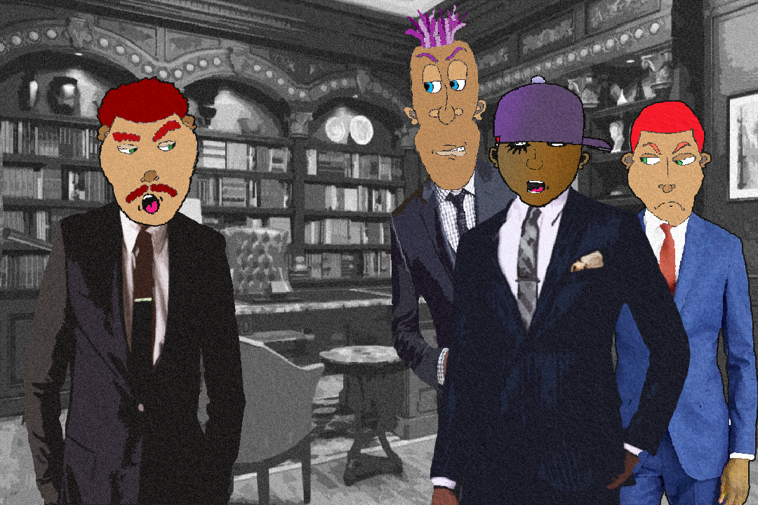 Black Droog & Associates meet with his Attorney.