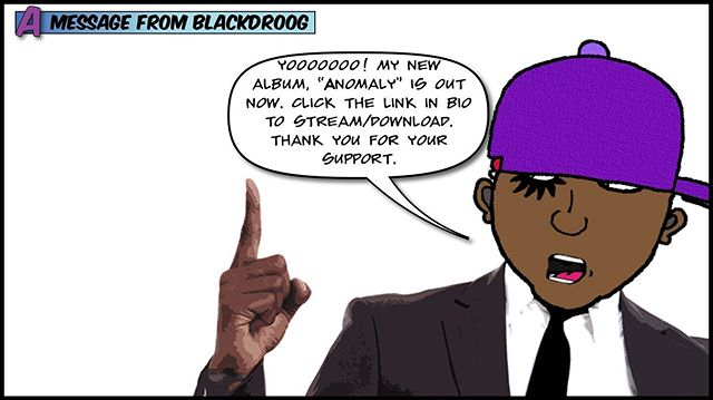 """""""Anomaly"""". Available Now.  #TheBlackDroogExperience . . . #music #beatmaker #producerlifestyle #hiphopbeats #electronicmusic #spacemusic #weirdmusic #cartoon #beats #scifimusic #artist #art #instrumentalmusic #makingmusic #songs #song #experimentalmusic #synthsizer #mpc #fruityloops #uniquemusic #loops #hiphop #newmusic #boombaphiphop #boombap #lofibeats #alien"""