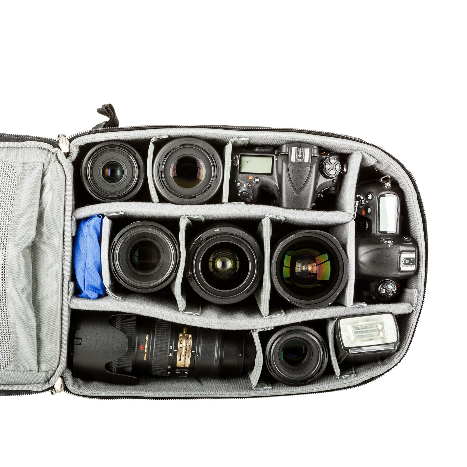 Thinktank Airport commuter. great for a carry on and durable enough for hiking.