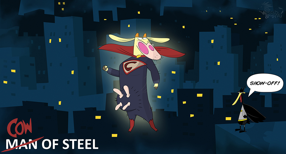 Cow of Steel