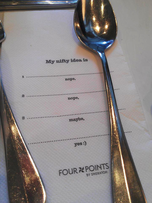 Hungry for ideas (Sydney)