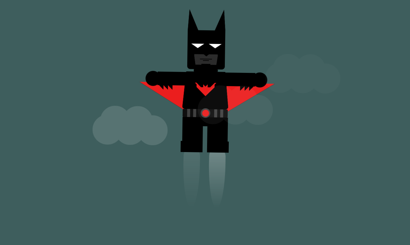 Lego Batman Beyond - HTML5 & CSS3 animation
