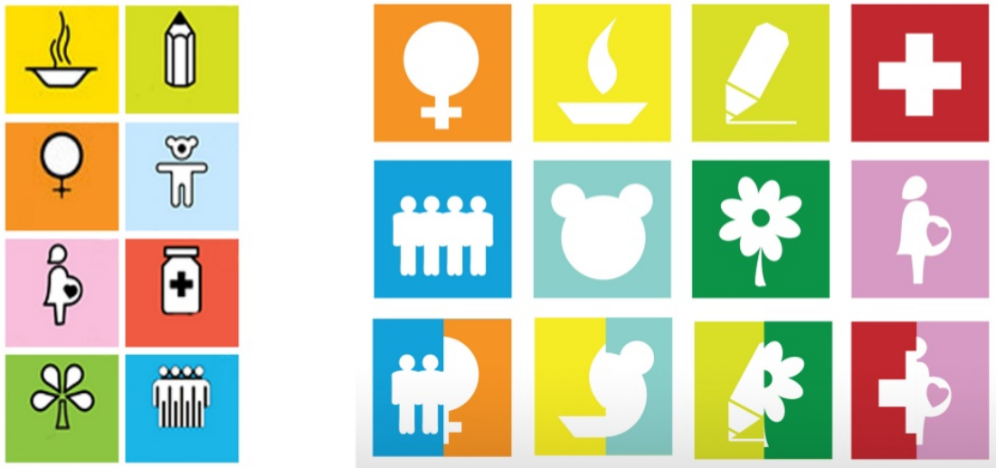 New MDG icons