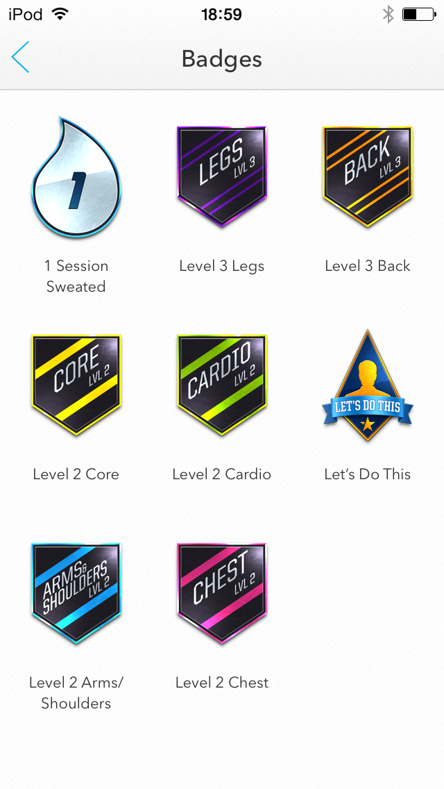Earn badges for your accomplishments.